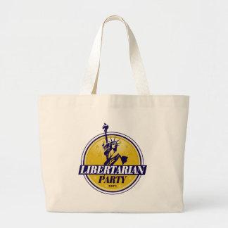 Libertarian Jumbo Tote Bag