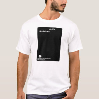 "Libertarians Against Humanity ""Blockchain"" T-Shirt"