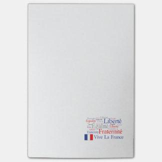 Liberté - Egalité - Fraternité : French Revolution Post-it Notes