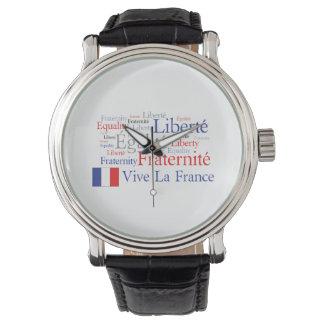 Liberté - Egalité - Fraternité : French Revolution Wrist Watch