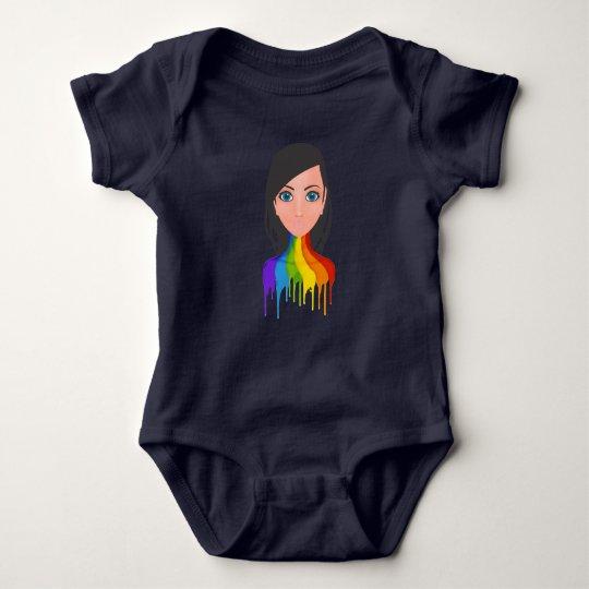 Liberte its creativity baby bodysuit