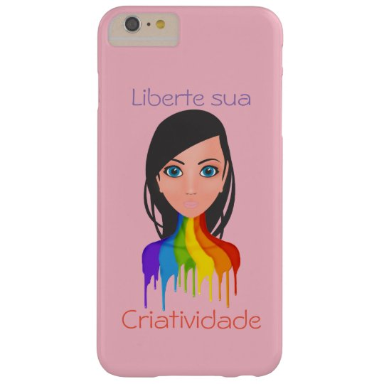 Liberte its creativity barely there iPhone 6 plus case