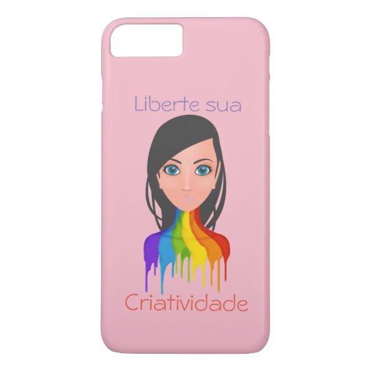 Liberte its creativity iPhone 8 plus/7 plus case