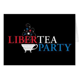 Libertea Party Greeting Card