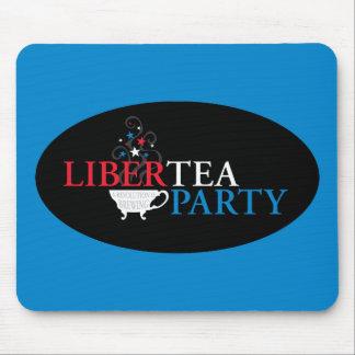 Libertea Party Mouse Pad