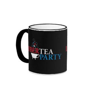 Libertea Party Ringer Coffee Mug