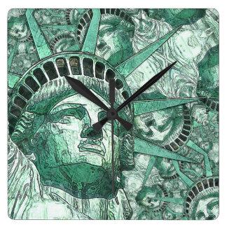 Liberty 20161102 square wall clock