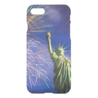 Liberty and Fireworks iPhone 7 Case