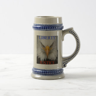 Liberty And Justice Beer Stein