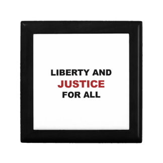 Liberty and JUSTICE for All Gift Box