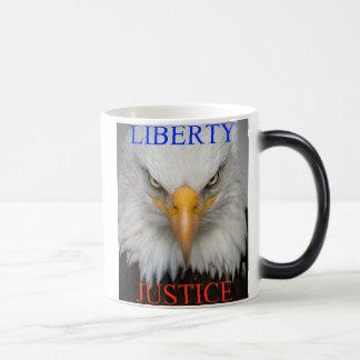 Liberty And Justice Magic Mug