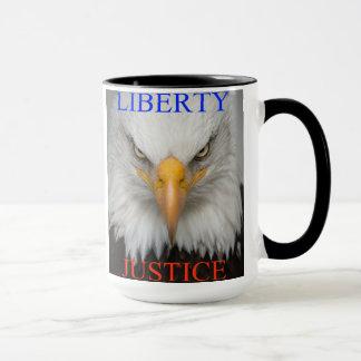 Liberty And Justice Mug