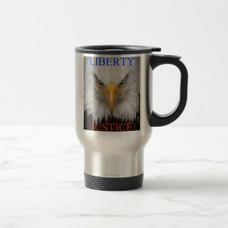 Liberty And Justice Travel Mug