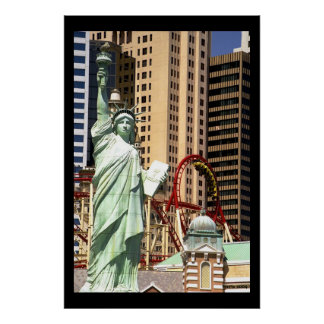 Liberty and the loop poster