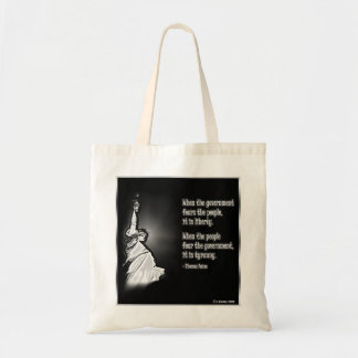 Liberty and Tyranny Tote Bag