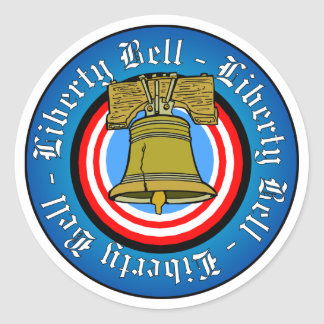 Liberty Bell Classic Round Sticker