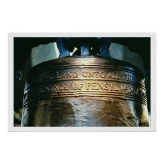 Liberty Bell, commissioned in 1751 (bronze) (see a Poster