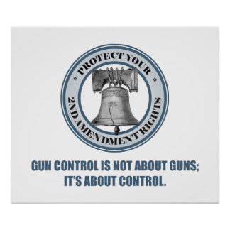 Liberty Bell -Control Poster
