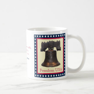 Liberty Bell Freedom USA Mug