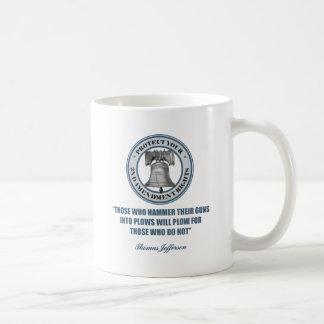 Liberty Bell -Jefferson 2nd Amendment Quote Basic White Mug