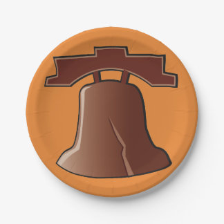 Liberty Bell Paper Plates