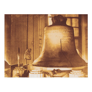 Liberty Bell - Vintage 1800's Photograph postcard