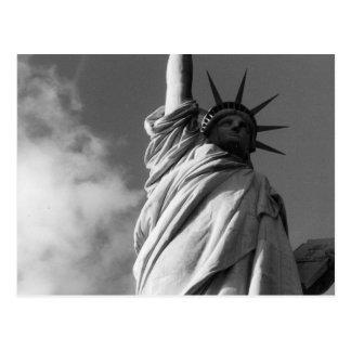 liberty black white postcards