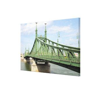 Liberty Bridge, Budapest, Hungary Canvas Print