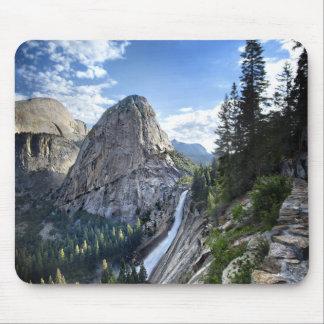 Liberty Cap and Nevada Fall - John Muir Trail Mouse Pad