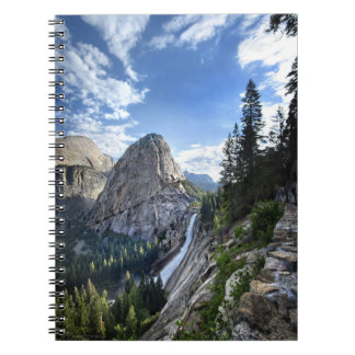 Liberty Cap and Nevada Fall - John Muir Trail Notebook