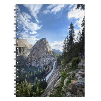 Liberty Cap and Nevada Fall - John Muir Trail Notebooks