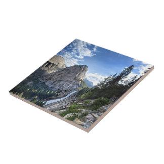 Liberty Cap and Nevada Fall - John Muir Trail Tile
