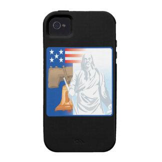 Liberty Vibe iPhone 4 Case