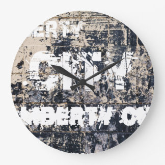 Liberty City Graffiti Clock