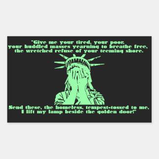 Liberty Crying Sticker