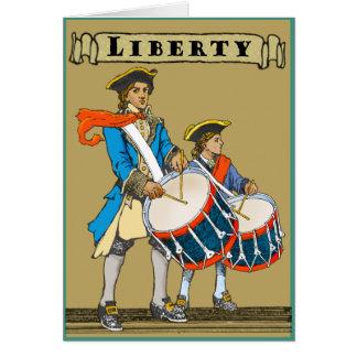 Liberty Drums Card