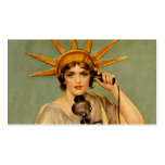 "Liberty Girl ""Call Me"" Pack Of Standard Business Cards"