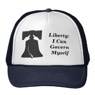 Liberty: I can Govern Myself Cap