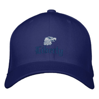 Liberty in Blue Embroidered Hat