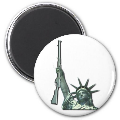 LIBERTY IN FIREARMS - 2ND AMENDMENT FRIDGE MAGNETS