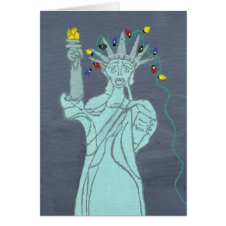 Liberty In Lights Card
