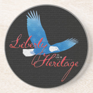Liberty is our Heritage Coasters