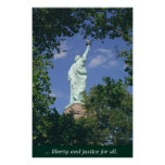 Liberty & Justice for All Posters