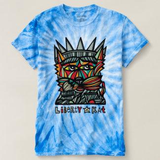 """""""Liberty Kat"""" Men's Cyclone Tie-Dye T-Shirt"""