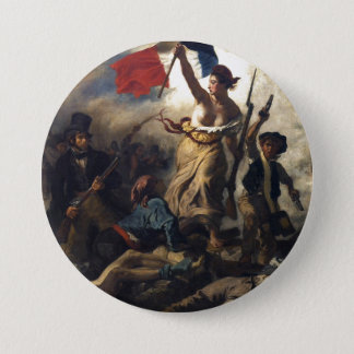 Liberty Leading the People 7.5 Cm Round Badge