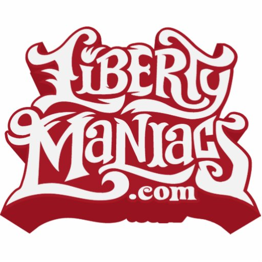 Liberty Maniacs Magnet Acrylic Cut Out