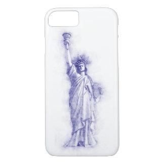 Liberty, New York, Manhattan, the USA, America iPhone 8/7 Case