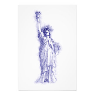 Liberty, New York, Manhattan, the USA, America Photo Print
