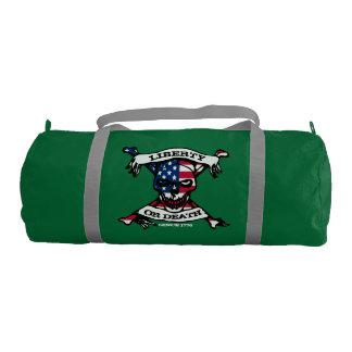 Liberty Or Death Duffle Gym Duffel Bag