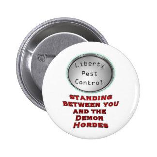 liberty pest control button